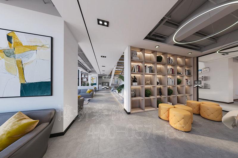 物业企业办公室装修设计 - 装修效果图