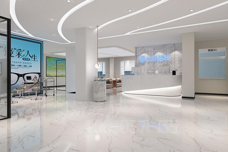 杭州太学眼科医院装修设计 - 装修效果图