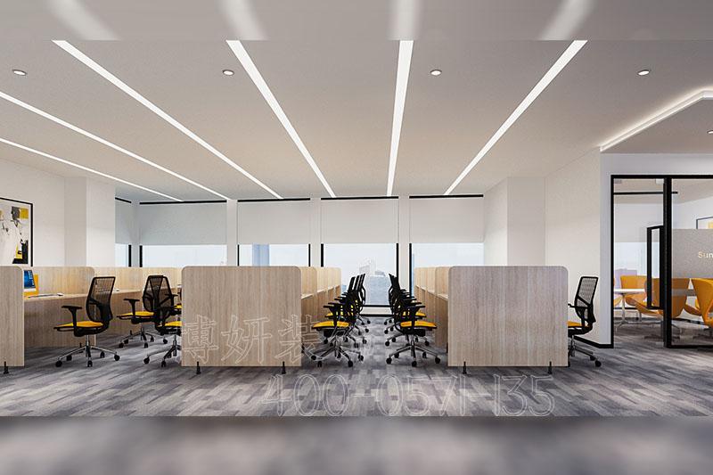 阳光保险办公室装修设计 - 装修效果图