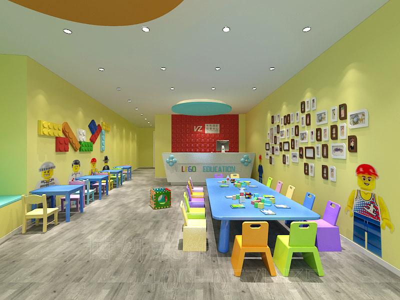 杭州滨江双语幼儿园装修设计,专业幼儿园设计公司,杭州幼儿园装修规划