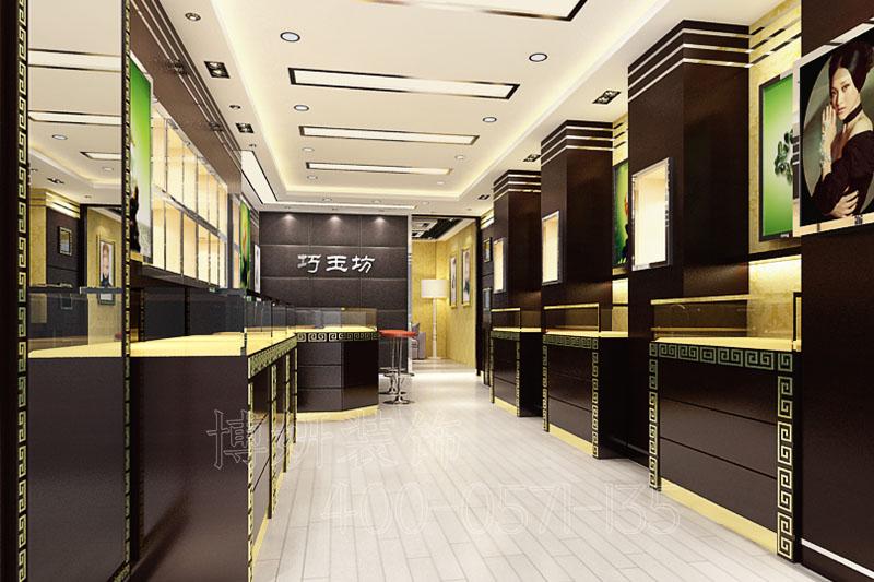 杭州珠宝店装修,珠宝店装修设计,杭州装修公司,珠宝店装修设计效果图