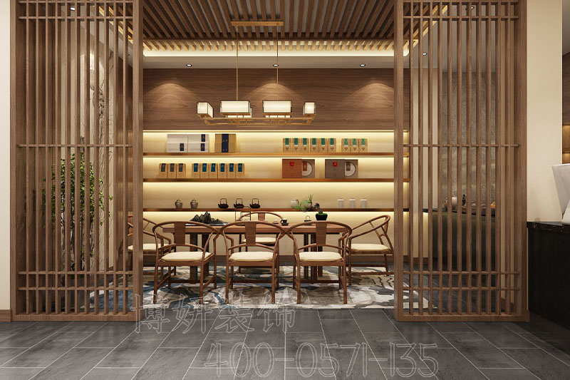 杭州茶室裝修設計案例