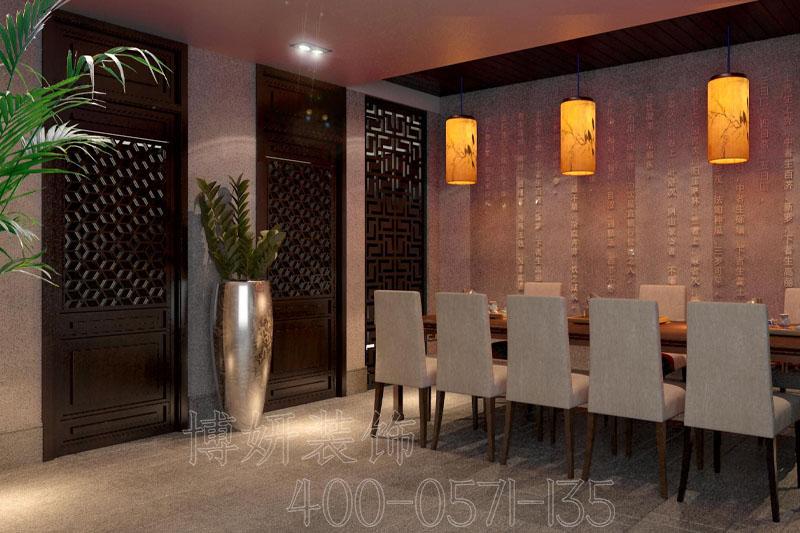 杭州中式茶會所裝修