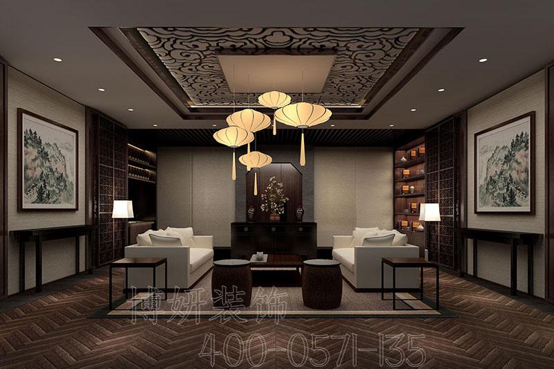 杭州茶会所装修设计
