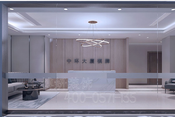 杭州中环大厦棋牌室装修设计案例