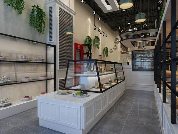 萬達皇家烘焙店裝修設計案例