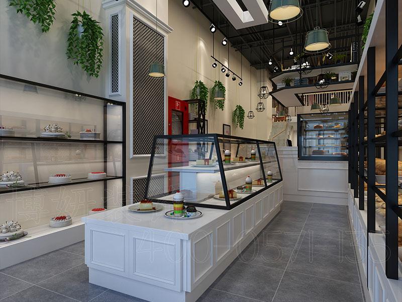 万达皇家烘焙店装修设计案例