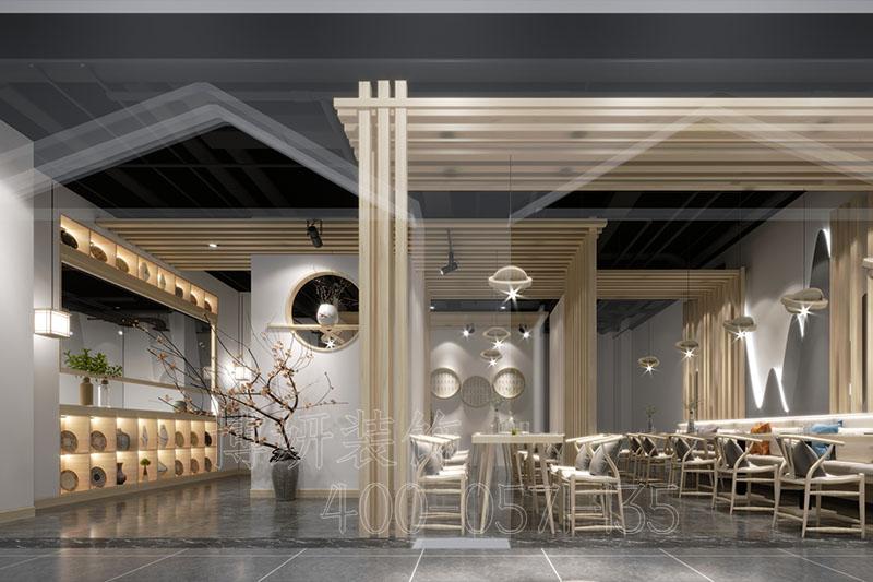 杭州茶餐厅装修设计-好口碑茶餐厅案例效果图
