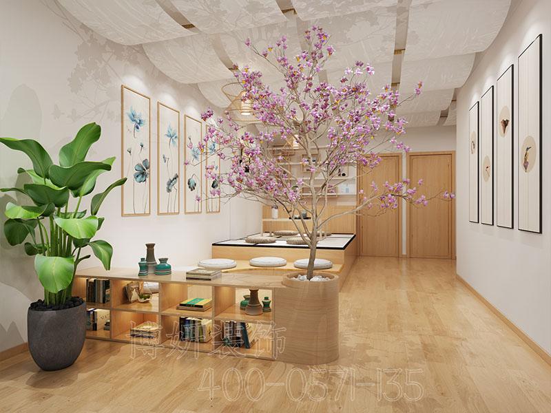 合肥日式美容店装修设计案例