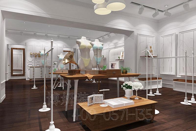 展厅装修,杭州展厅装修,内衣展厅装修