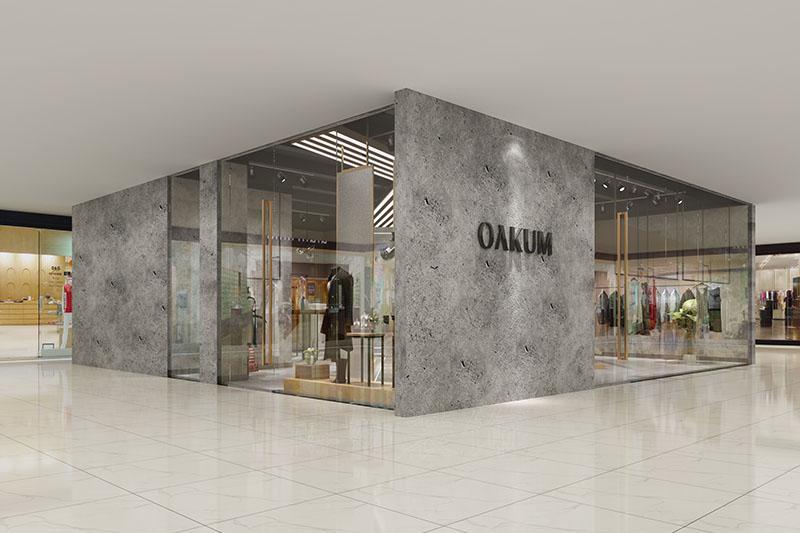 OAKUM服装店装修设计案例