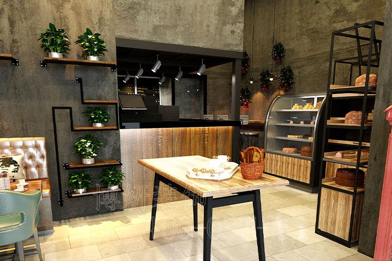 NINO烘焙店装修设计案例