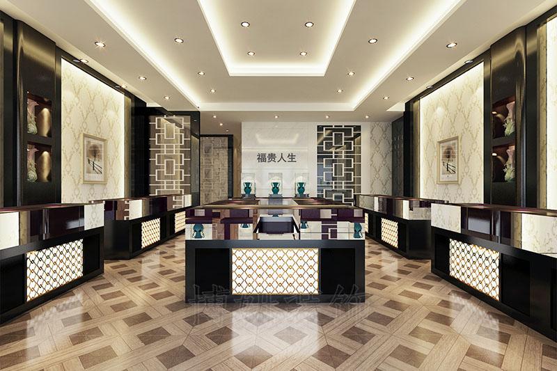 拱墅区120平珠宝店装修设计案例