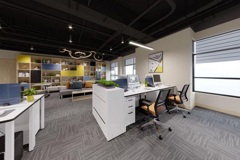 杭州科技企业办公室展厅装修案例