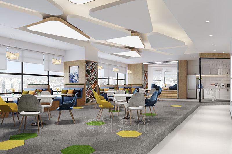 教育咨询企业办公室装修设计案例