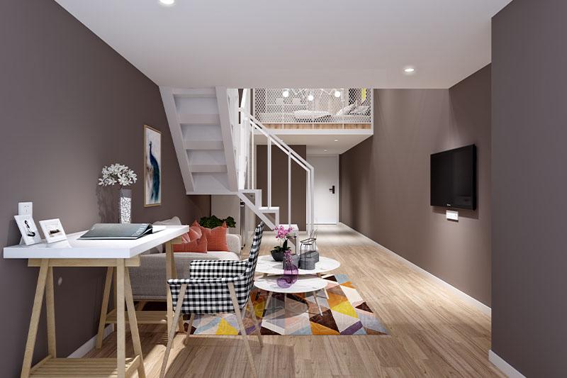 世联行红璞公寓设计装修案例