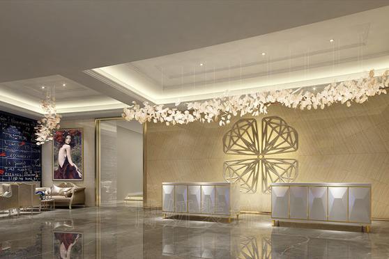 爱情主题酒店装修设计案例