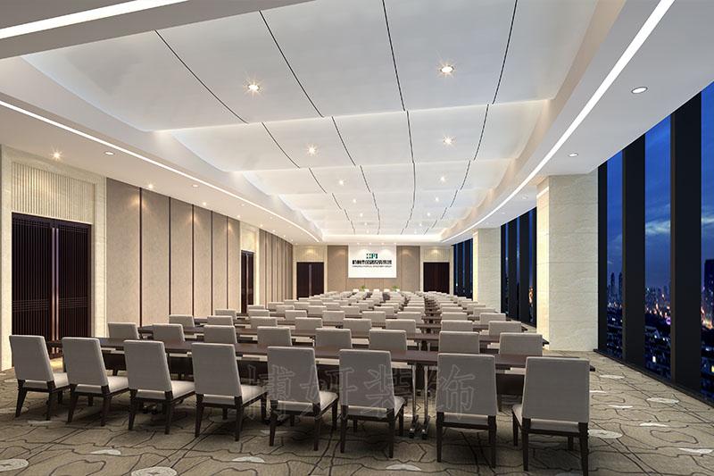 金融企业办公楼装修设计案例