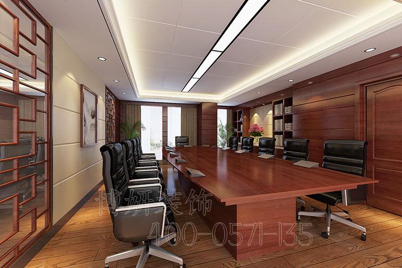 企业老总办公室装修设计案例