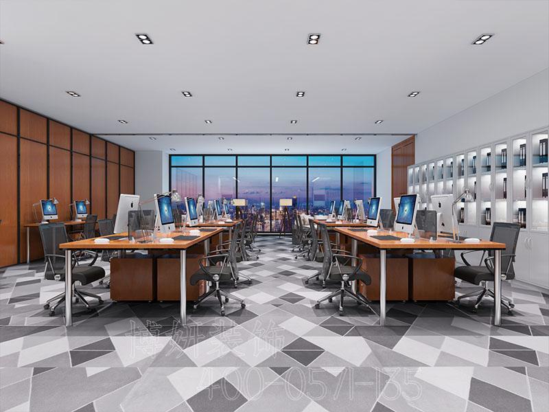 杭州期货企业办公室装修设计案例
