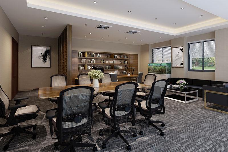 网络高新技术企业办公室装修设计案例
