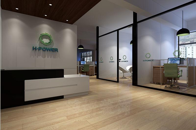 医药企业企业办公室装修设计案例