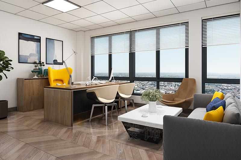 杭州临安办公室装修设计案例