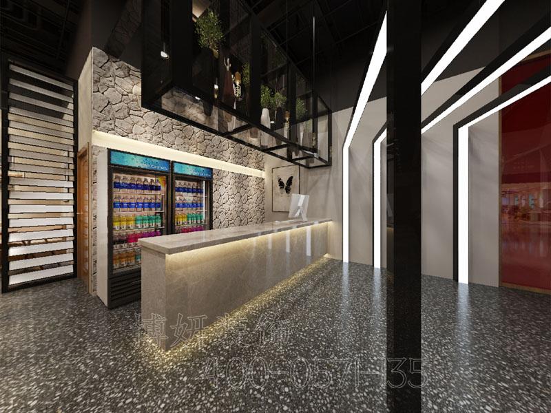 杭州新天地中心餐厅装修设计案例-专业餐饮企业