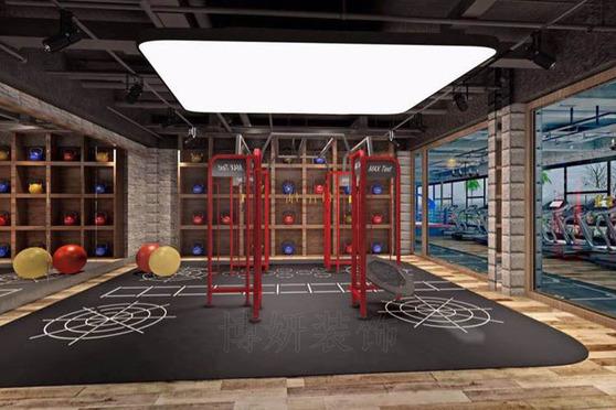 杭州健身會所裝修公司裝修案例