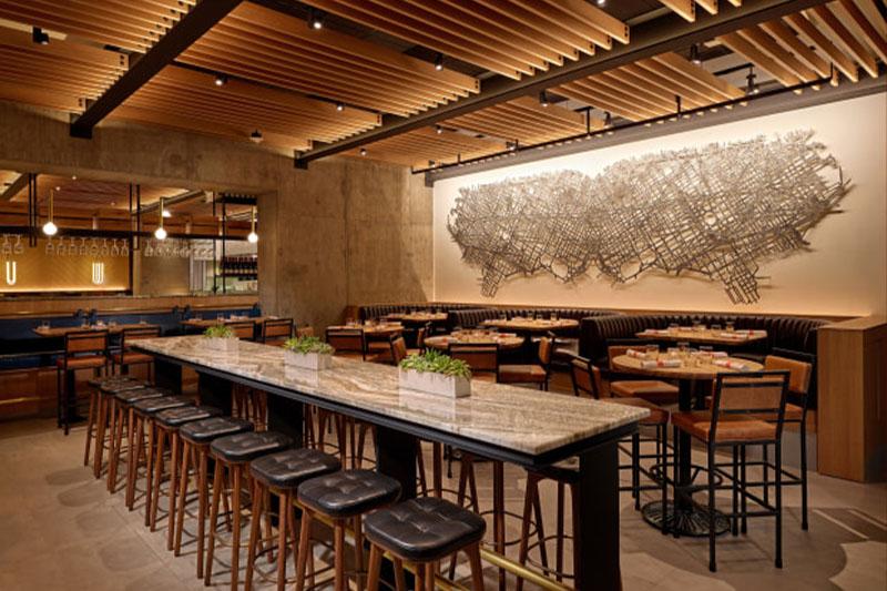 杭州寿司店餐厅装修设计-好吃的寿司店案例效果图