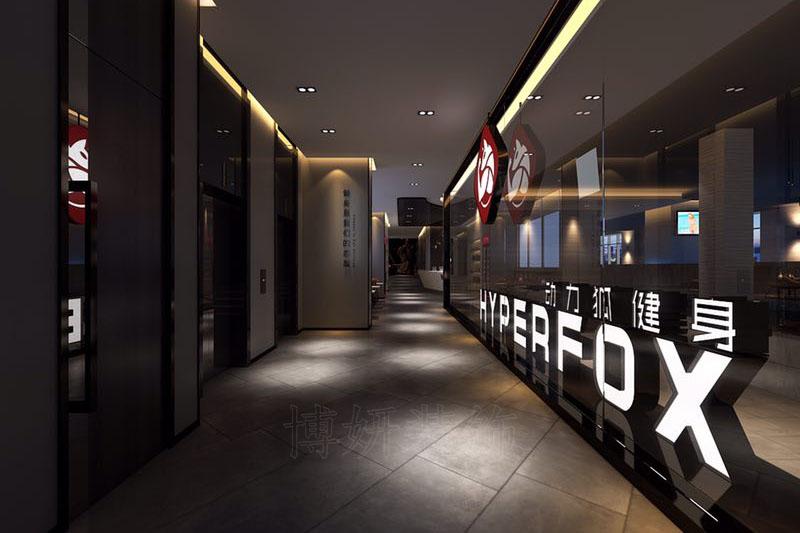 杭州健身俱乐部设计装修案例