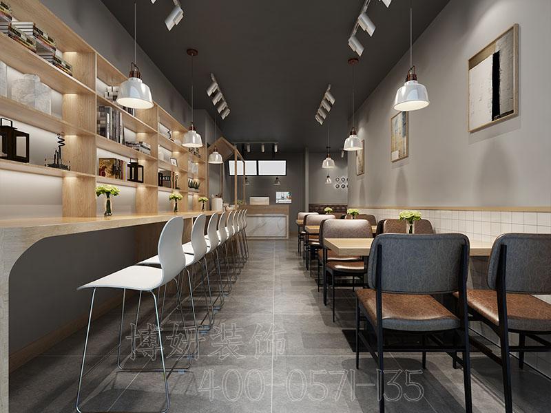 杭州宝龙城市广场餐厅装修设计-案例效果图