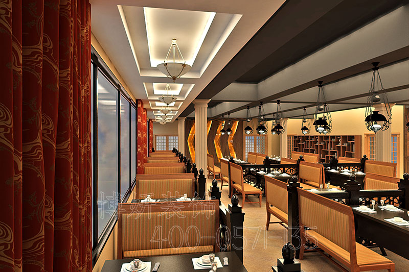 韩式烤肉店装修设计