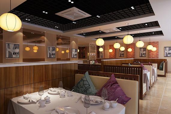 杭州下沙自助烤肉店装修设计