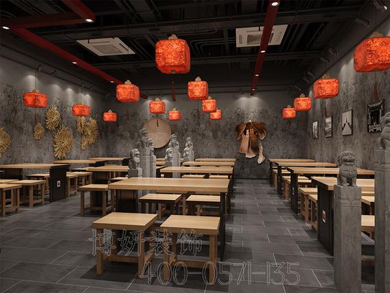 火車東站麻辣香鍋店裝修設計案例