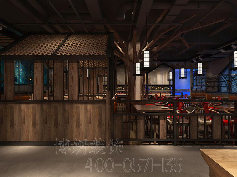 餐厅装修,龙虾店装修,杭州餐饮店装修,杭州龙虾店装修