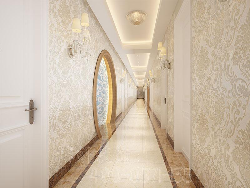 杭州城北足浴店装修设计