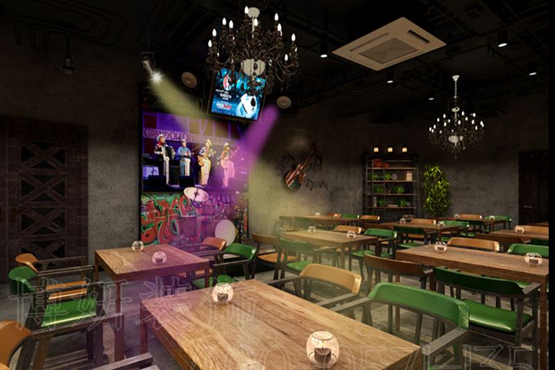 音乐酒吧装修设计案例