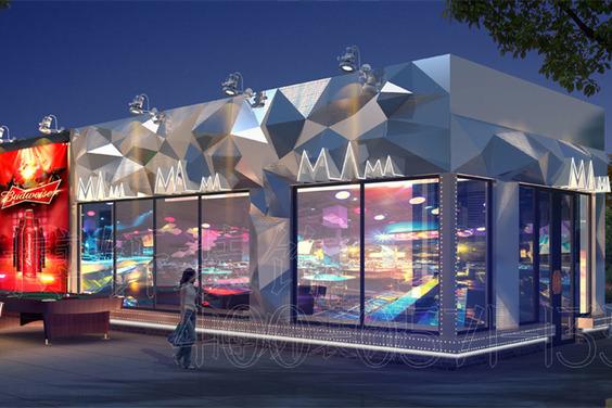 杭州MAMA酒吧裝修設計