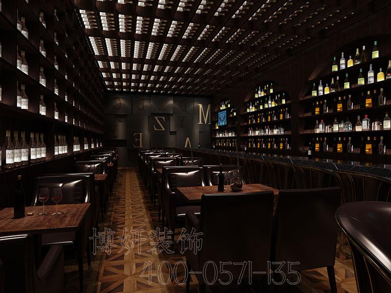 杭州美泽酒吧装修设计