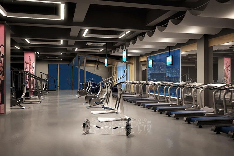 健身房装修,杭州健身房装修,健身馆装修