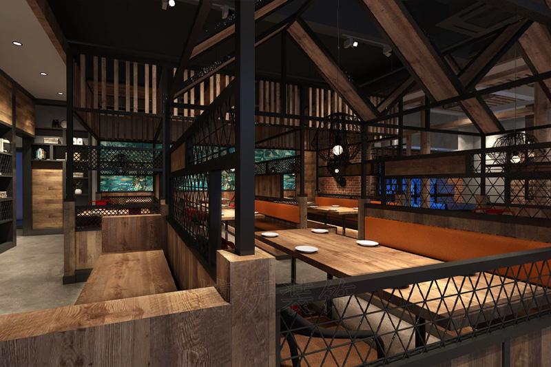 杭州浙菜餐厅装修设计-专业餐厅设计案例