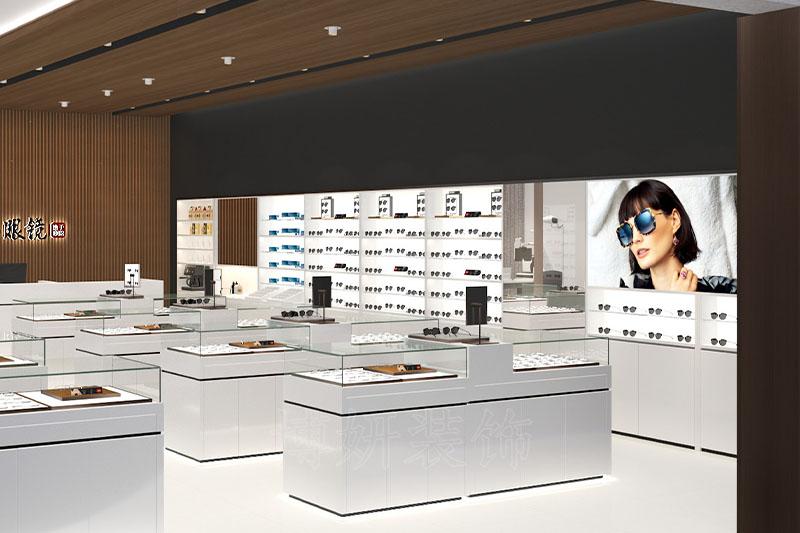杭州眼镜店装修设计