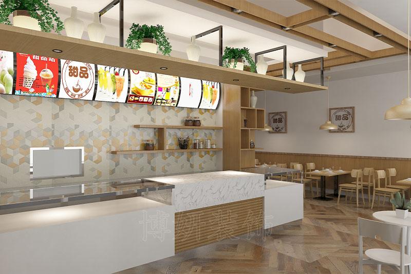杭州甜品店装修,杭州甜品店装潢设计,杭州甜品店装修效果图,杭州装修公司