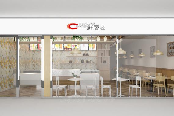 杭州濱江甜品店裝修