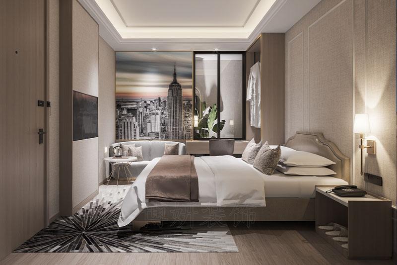 上海闵行区酒店装修设计施工案例