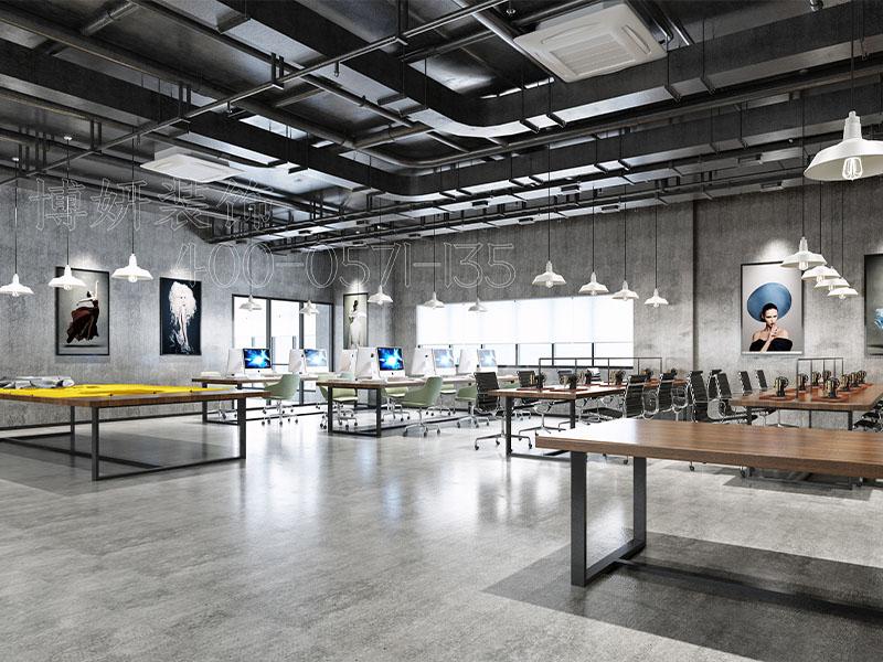 1200方服裝公司辦公室裝修設計案例