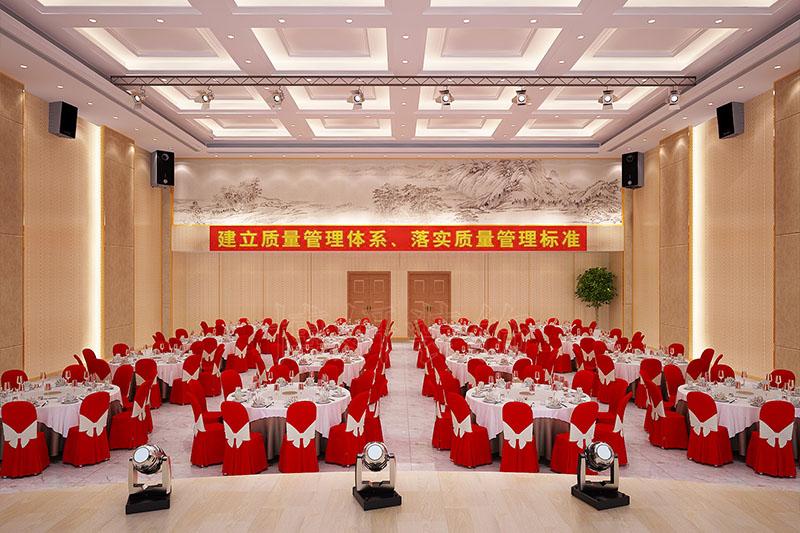 多媒体宴会厅设计装修案例