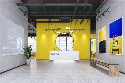 1200方服装企业办公室装修设计案例
