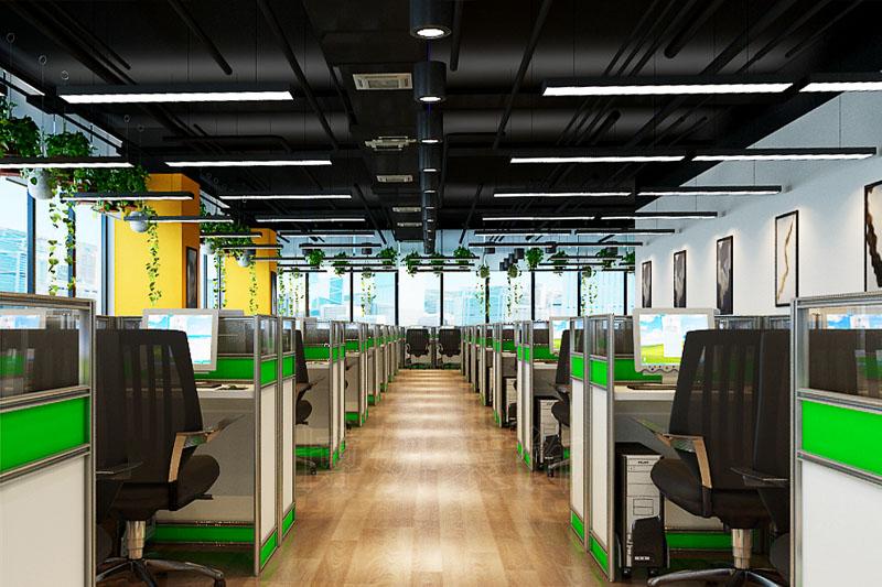 合肥高端办公室装修设计案例